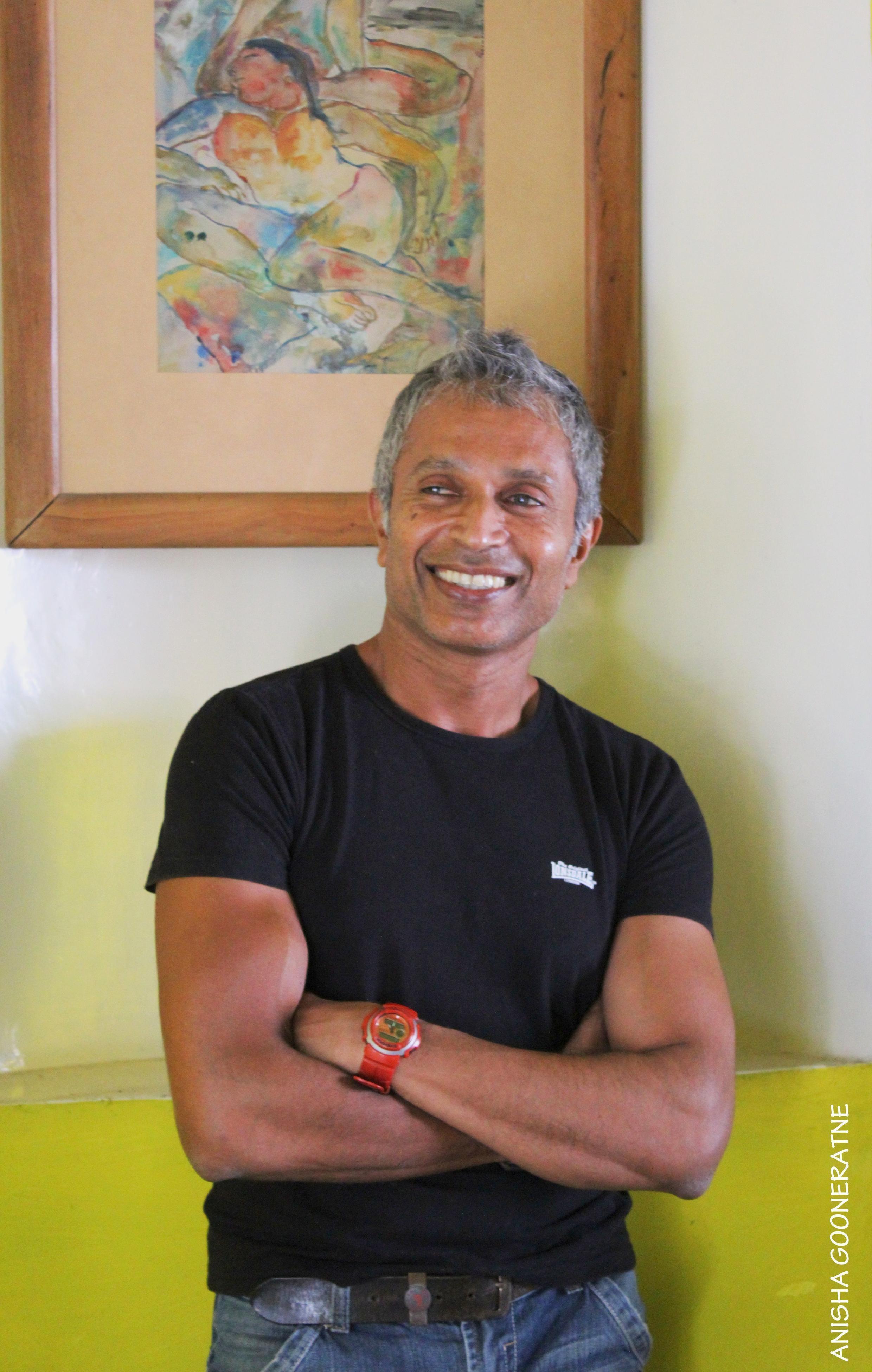 L'écrivain sri-lankais Ashok Ferrey, auteur de «L'incessant bavardage des démons».