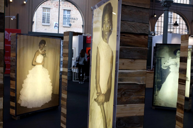 Installation monumentale de l'artiste cubaine Susana Pilar à AKAA 2018.
