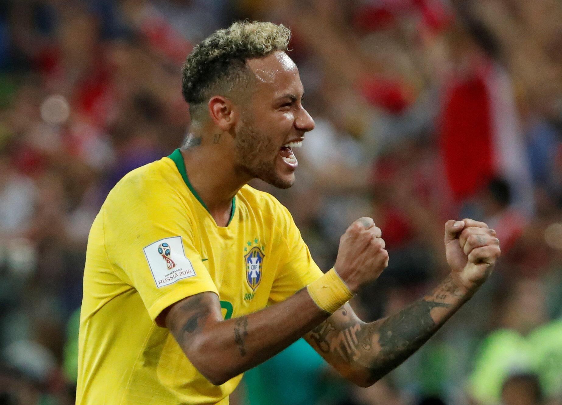 Neymar,mchezaji nyota wa Brazili.
