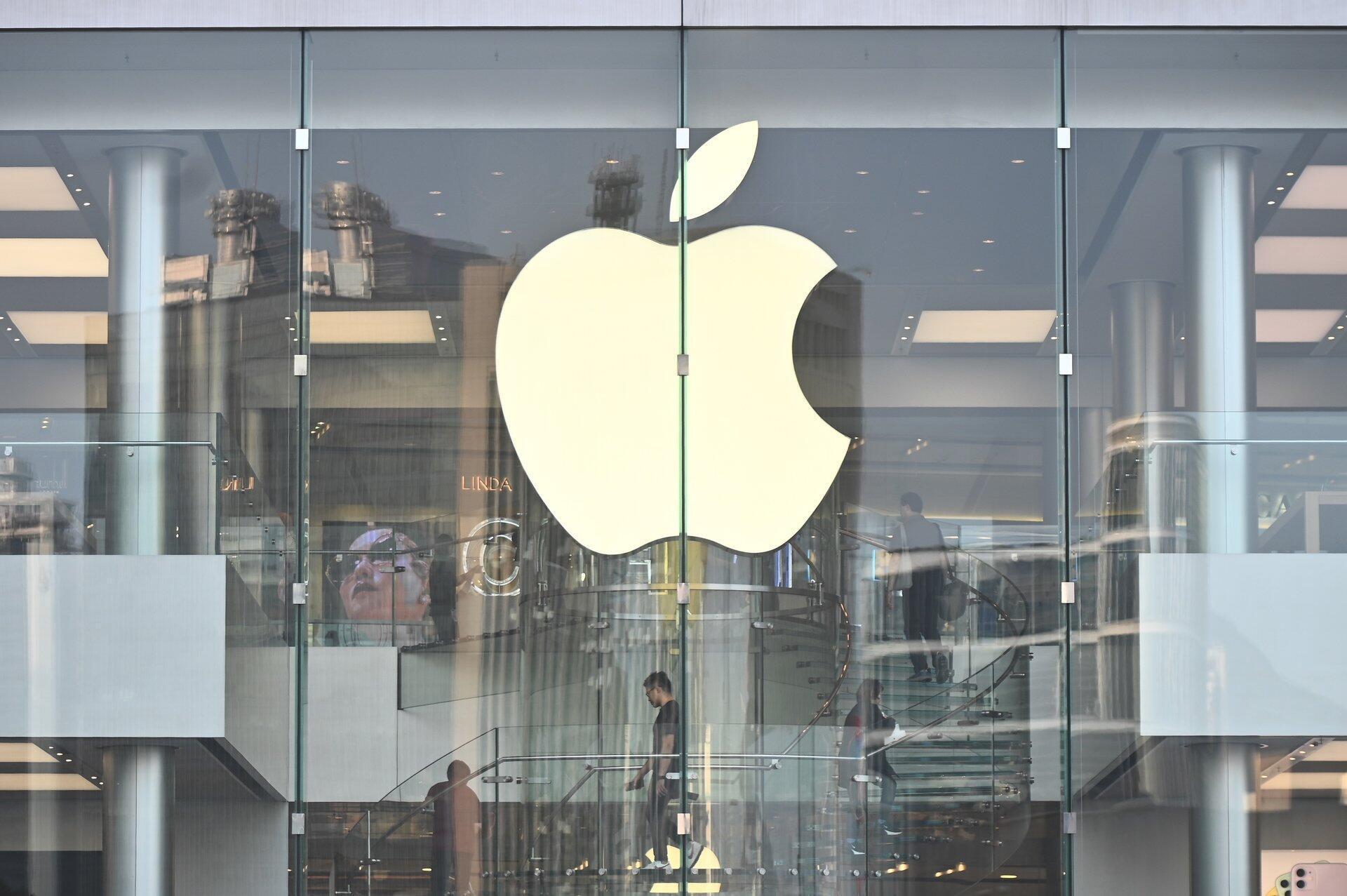 Un magasin Apple à Hong Kong, le 10 octobre 2019.