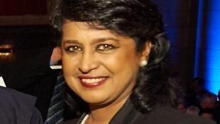 Ameenah Gurib-Fakim, présidente de Maurice.