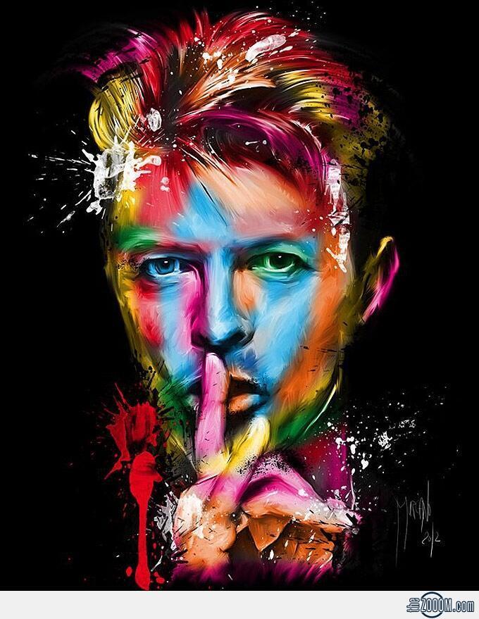 David Bowie, hiện thân phong trào glam rock  (davidbowie.com)