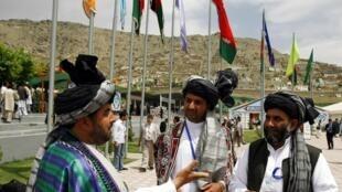 Wakilan Majalisar Loya Jirga ta kabilun Afghanistan a Kabul