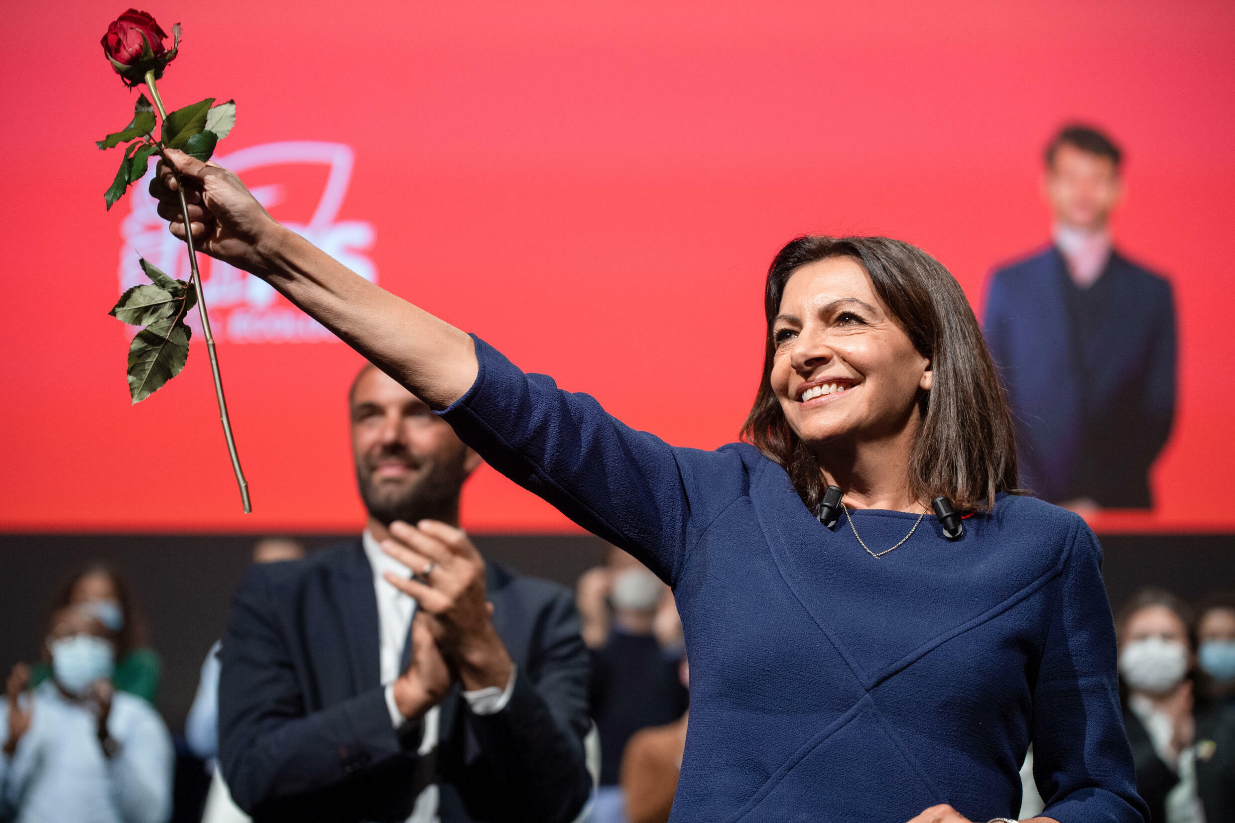 'I'm here to convey a project of social, ecological and democratic reconquest,' Hidalgo told 1,700 party members