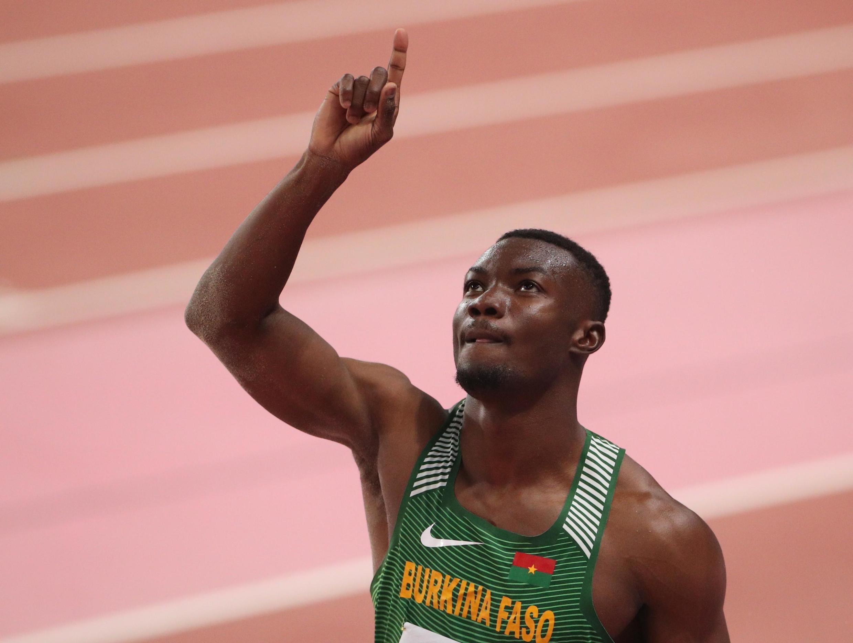Le Burkinabè Hugues Fabrice Zango a battu le record d'Afrique du triple saut en finale de Mondiaux de Doha.