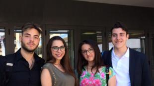 Les lycéens de l'institut Luigi Galvani s'inquiètent du manque de perspectives d'avenir en Italie.