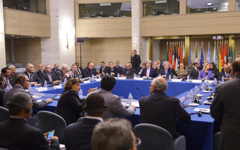 Hội nghị quốc tế các Ngoại trưởng họp tại Roma bàn về Libya ngày 13/12/2015.