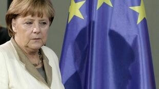 A chanceler alemã, Angela Merkel, nesta quinta-feira, 4/10/12.