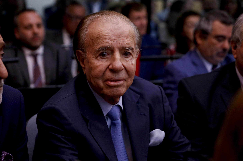 Carlos Menem, antigo presidente da Argentina.