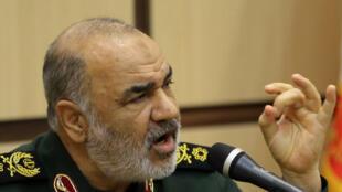 O chefe dos Guardiães da Revolução do Irã, general Hossein Salami.