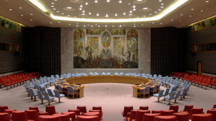 Phòng họp Hội Đồng Bảo An Liên Hiệp Quốc.