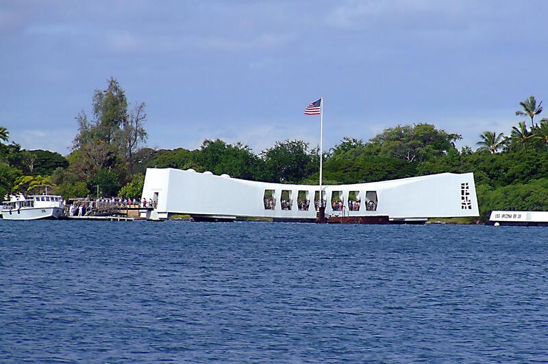 珍珠港二戰紀念建築