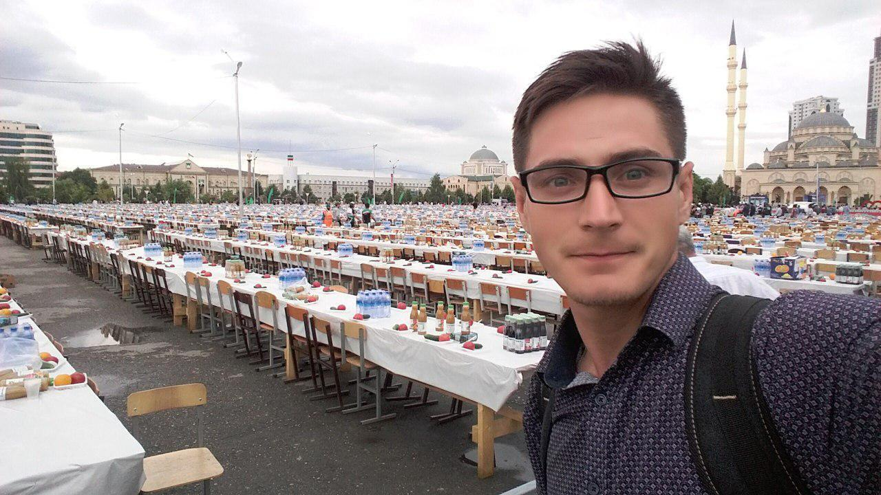 Максим Лапунов в Чечне