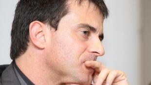 Manuel Valls, deputado socialista francês.