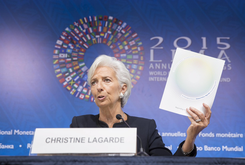 Christine Lagarde, directora do FMI.