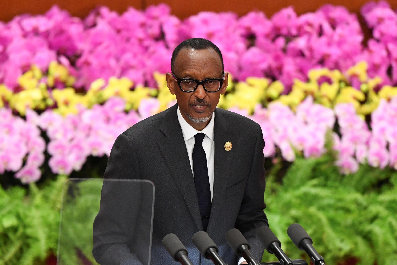 Le président Paul Kagame au forum Chine-Afrique à Pékin, le 3 septembre 2018 (image d'illustration).