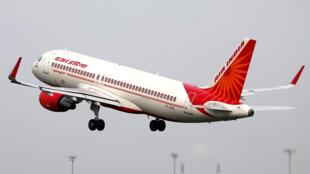 印度航空公司一架飞机2017年7月7日。