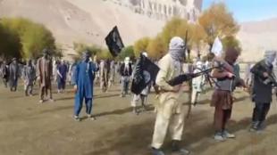 تصویر برداشته شده از ویدیوی منتشر شده توسط داعش.