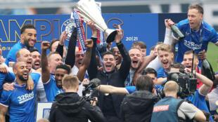 PHOTO Glasgow Rangers - 15 mai 2021