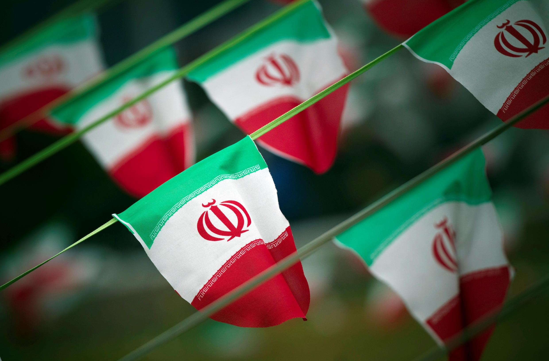 Ảnh minh họa : Quốc kỳ Iran tại một quảng trường ở thủ đô Téhéran.