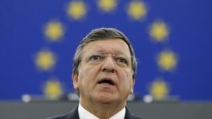 José Manuel Barroso, el presidente de la Comisión Europea.