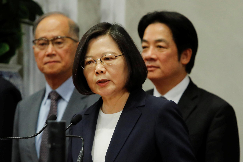 布基納法索與台灣斷交之後,台灣總統蔡英文24日發錶針對中國大陸的強硬聲明。