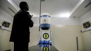 radiothérapie ouganda hôpital machine