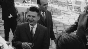 Nicolae Ceausescu, figure principale du régime communiste roumain.