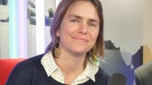 Juliana Fanjul en los estudios de RFI