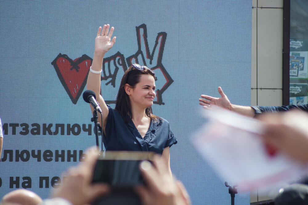 Светлана Тихановская: «Я буду на Площади»