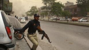 Hari cikin Masallatan kasar Pakistan 28 mai.