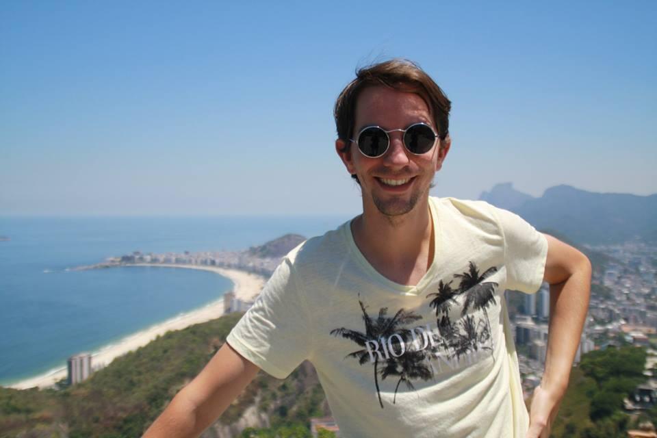 O jornalista Corentin Chauvel é correspondente para a imprensa francesa no Rio de Janeiro.