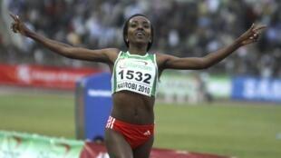 L'Ethiopienne Tirunesh Dibaba.