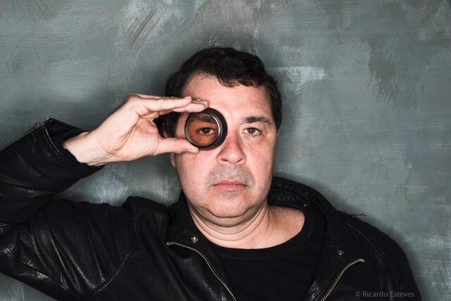 O fotógrafo Ricardo Esteves