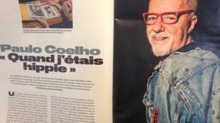 """Paulo Coelho fala de sua juventude na reportagem intitulada """"Quando eu era hippie"""""""