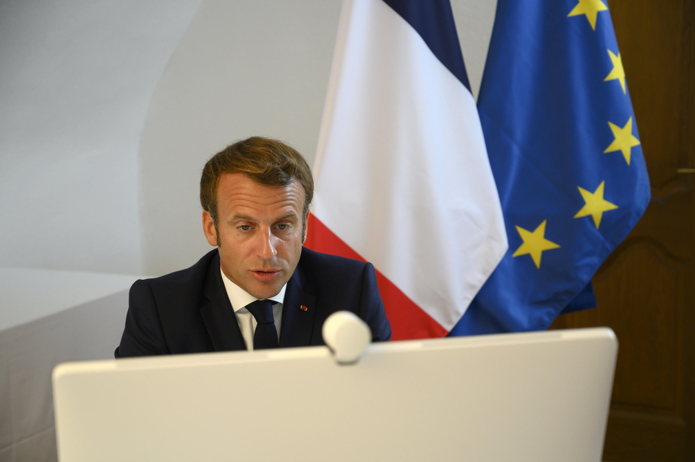 Macron Libano Liban Conference