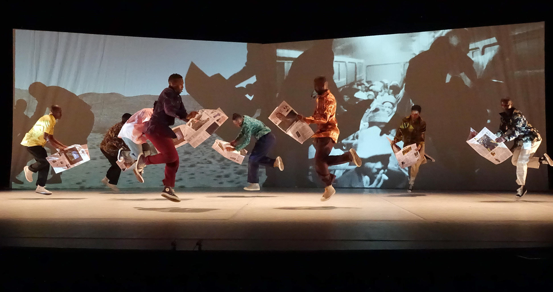 Extrait du spectacle «Via Kanana» de la troupe sud-africaine Via Kathlehong.