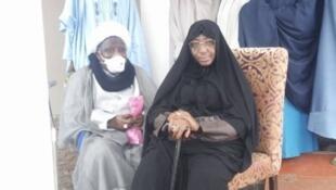 Jagoran kungiyar 'yan uwa Musulmi a Najeriya, da aka fi sani da Shi'a, Sheikh Ibrahim Zakzaky, tare da mai dakinsa Zeenat.