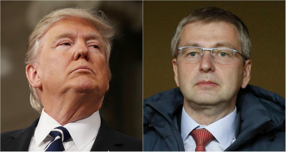 Дональд Трамп и Дмитрий Рыболовлев