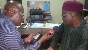 Namata Guero Thierry, directeur du Collège et du Lycée Mariama de Niamey, est président  de l'association nationale CESAO Niger.