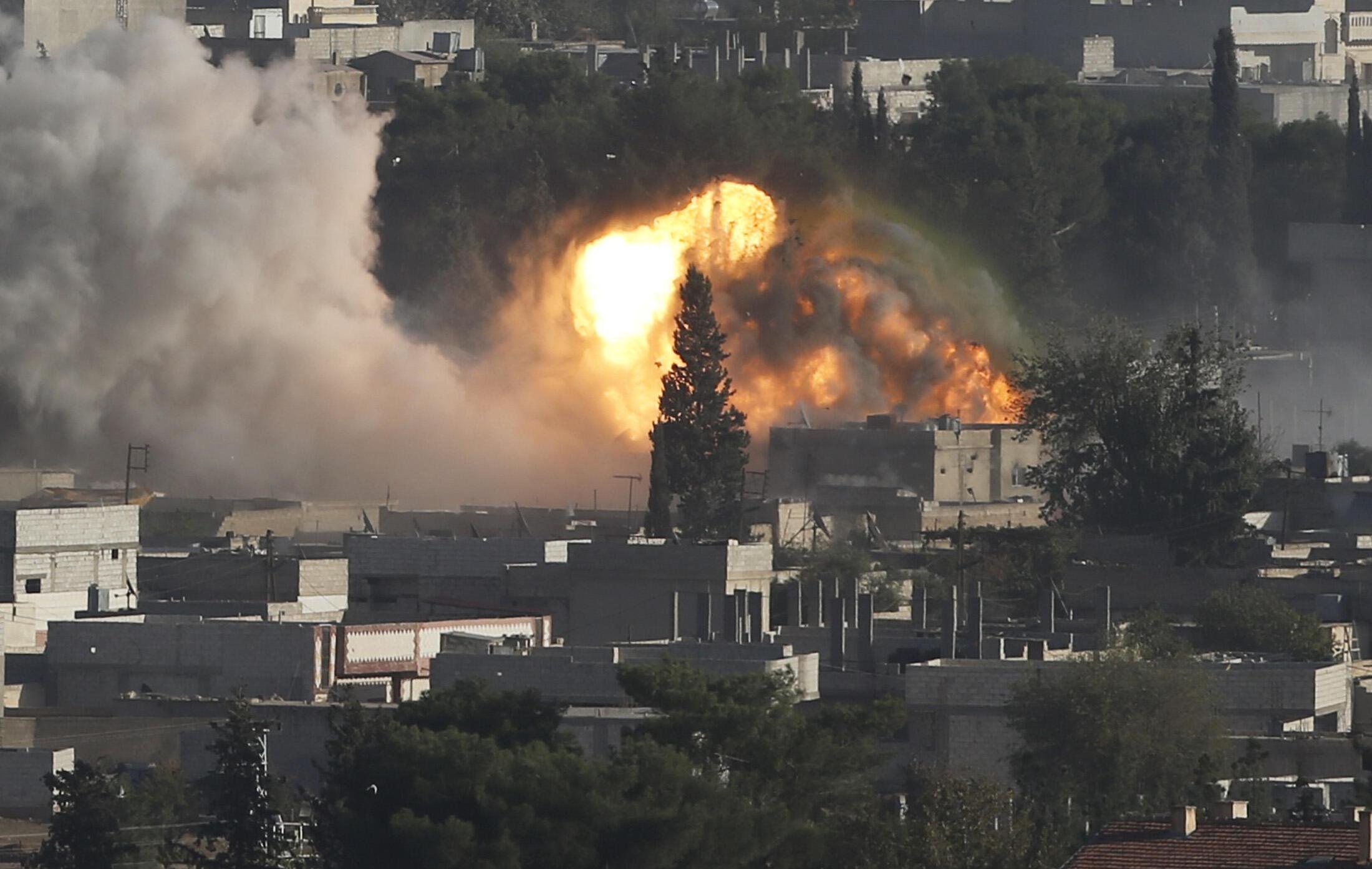 Hayakin fadan da ake tabkawa a Kobane na kasar Syriya