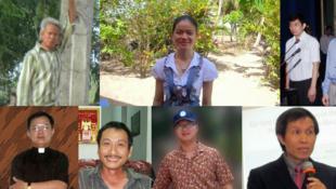 Một số nhà hoạt động và blogger Việt Nam bị bỏ tù vì bị coi là đối lập chính trị (Ảnh: www.hrw.org)