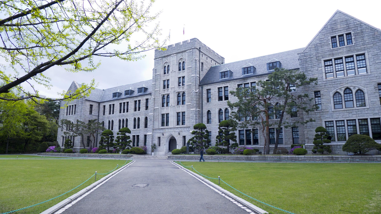 Campus de l'université de Séoul. En Corée du Sud, 25 000 lycéens et 10 000 étudiants apprennent la langue de Molière.
