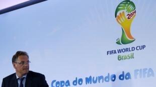 Jérôme Valcke, el secretario general de la FIFA.