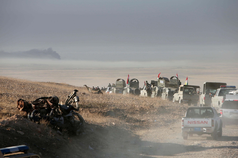 В Ираке началась битва за Мосул.