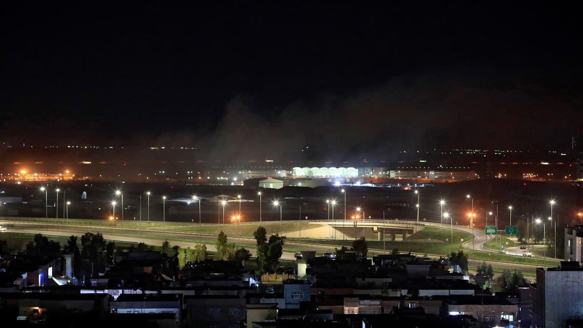 فرودگاه بین المللی اربیل هدف حمله پهپادی قرار گرفت