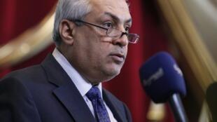 O ministro iraquiano do Petróleo, Abdul-Kareem Luaibi.