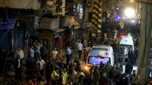 Harin ranar alhamis a Beirut na kasar Lebanon