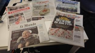 Diários franceses 19.03.2018