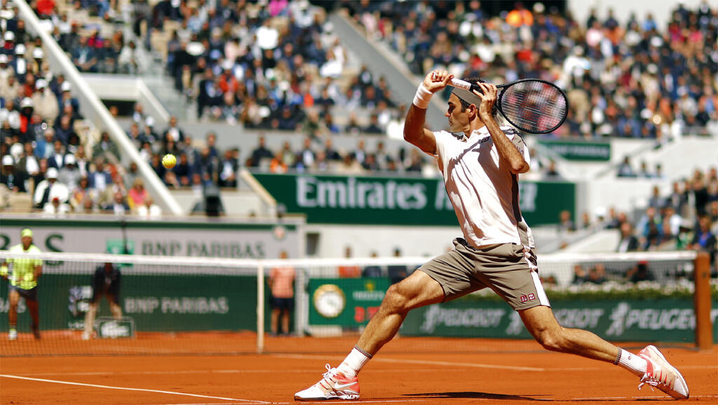 Roger Federer returned to the French Open in 2019 after missing several editions to preserve his career.